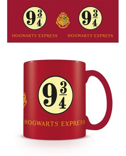 Mug rouge 9 3/4 Hogwarts Express Harry Potter