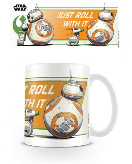 Mug Star Wars Just Roll With It