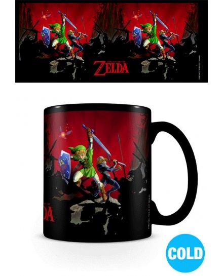 Mug Zelda Battle Thermoreactif