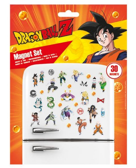Pack de 19 aimants magnets DragonBall Z