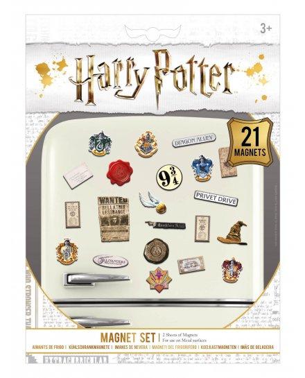 Pack de 21 aimants magnets Harry Potter