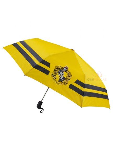 Parapluie Harry Potter Poufsouffle jaune et noir
