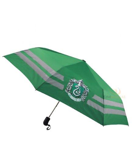 Parapluie Harry Potter Serpentard vert et beige
