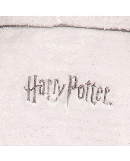 Peignoir Harry Potter Hedwige blanc