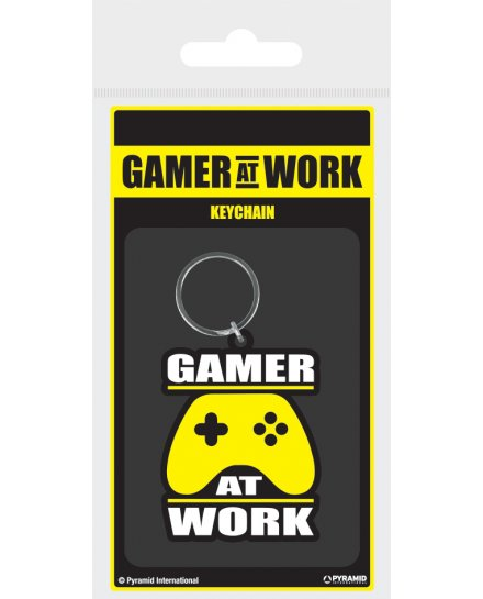 Porte-clés Gamer at work Geek