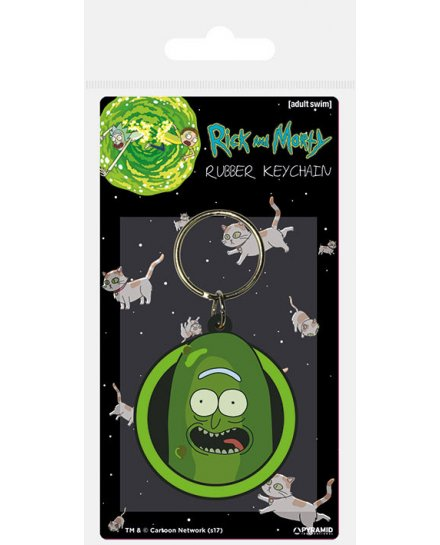 Porte-clés Rick et Morty Pickle Rick