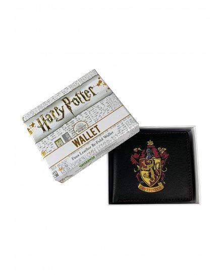Portefeuille Harry Potter noir blason Gryffondor