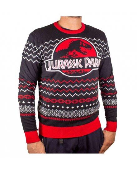 Pull de Noël Jurassic Park