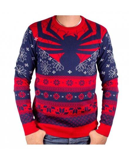Pull de Noël Spiderman