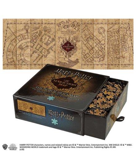 Puzzle Harry Potter Carte du Maraudeur 1000 pièces