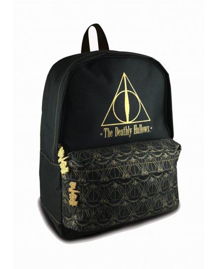 Sac à dos Harry Potter Reliques de la mort noir et doré