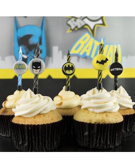 Set 10 bougies Batman DC Comics