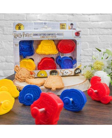 Set 6 emporte-pièces cookie Harry Potter