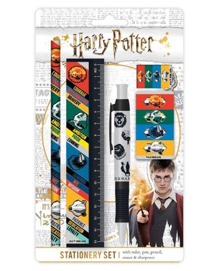 Set papeterie Harry Potter Qualités maisons Poudlard