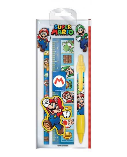 Set papeterie Super Mario et Luigi Nintendo
