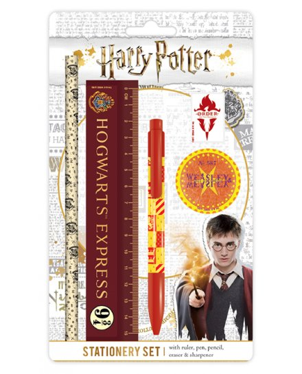Set papeterie Harry Potter Hogwarts Express