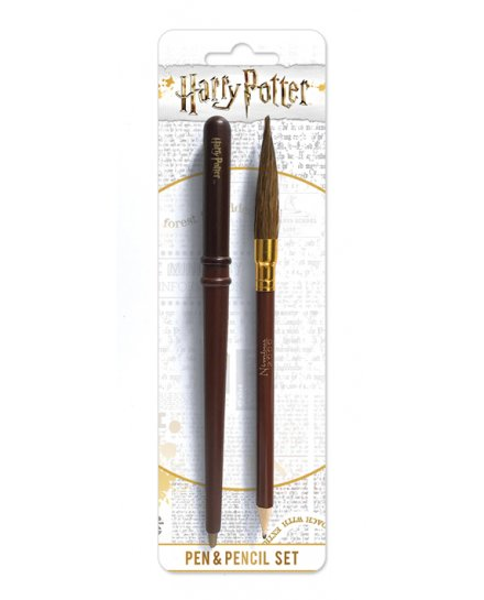 Set papeterie stylo et crayon Harry Potter
