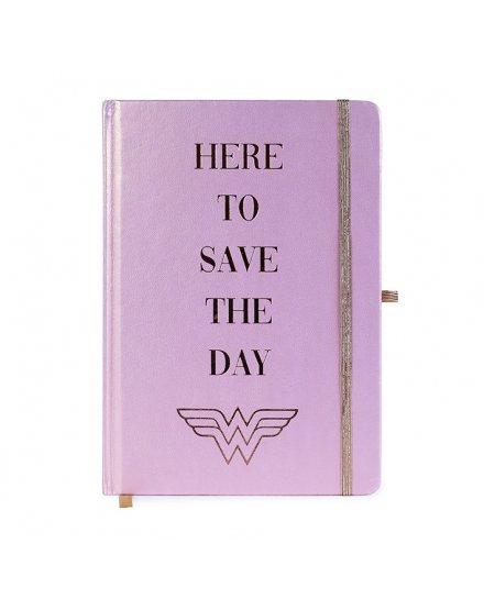 Carnet Bloc Notes A5 Premium Wonder Woman