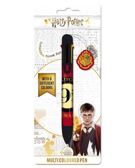 Stylo 6 couleurs Harry Potter Platform 9 3/4