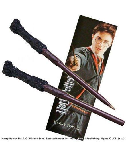 Stylo Baguette Harry Potter et marque page