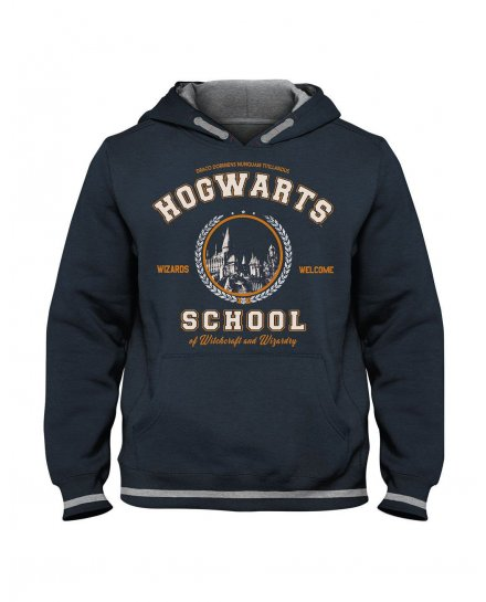 Sweat enfant Harry Potter bleu Hogwarts School