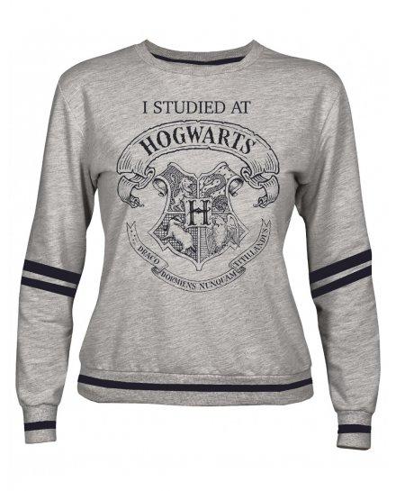 Sweat femme Harry Potter gris I studied at Hogwarts