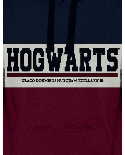 Sweat Harry Potter Hogwarts bleu blanc bordeaux