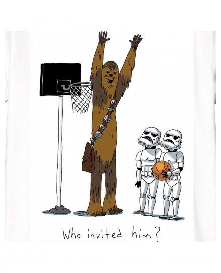 T-shirt Enfant Star Wars - Who Invited Him