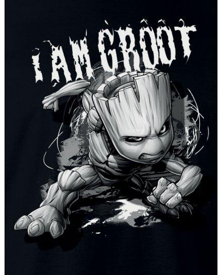 T-Shirt Groot Attack MARVEL
