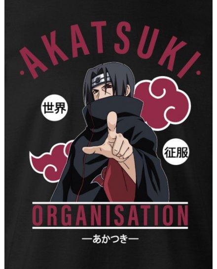 T-shirt Naruto - Akatsuki Organisation