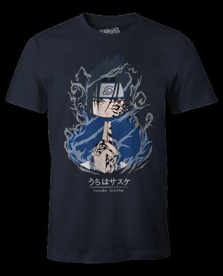 T-shirt Naruto - Sasuke