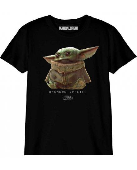 T-shirt Star Wars Enfant Baby Yoda Unknown species