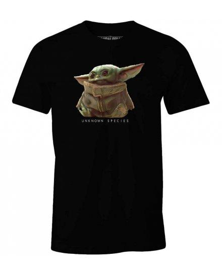 T-shirt Star Wars Mandalorian Baby Yoda Unknown species