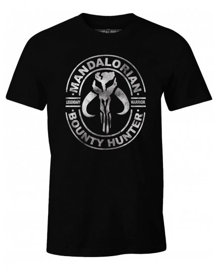 T-shirt Star Wars Mandalorian Bounty Hunter