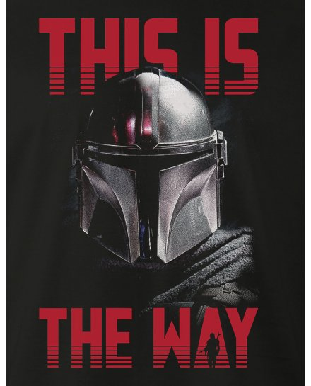 T-shirt Star Wars Mandalorian This is the way