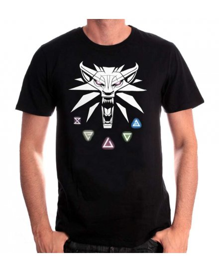 T-shirt The Witcher Signes