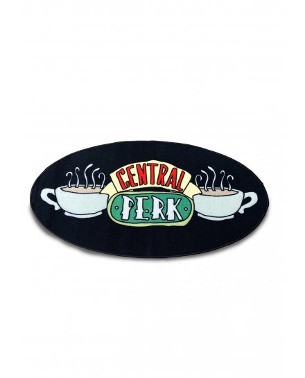 Tapis Friends logo Central Perk ovale