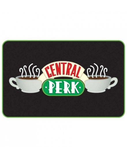 Tapis Friends noir Central Perk