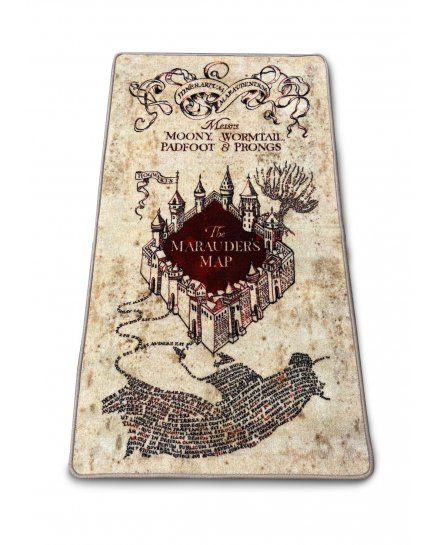 Tapis Harry Potter Carte du Maraudeur