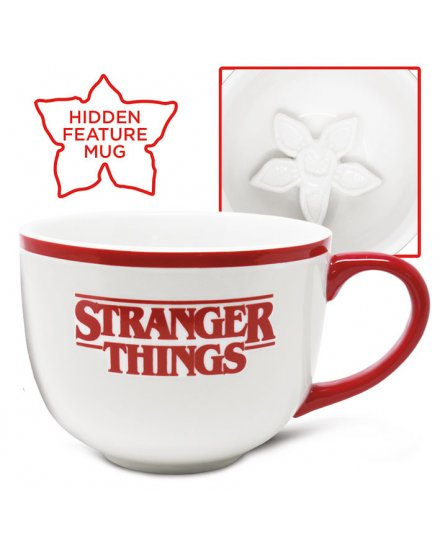 Tasse cappuccino Stranger Things Demogorgon 3D