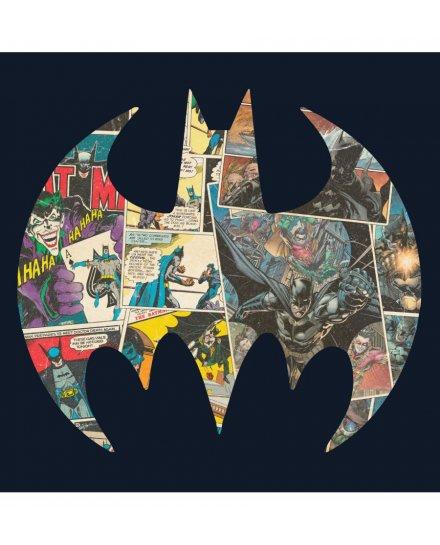 Tee Shirt Batman Logo Comics 80th