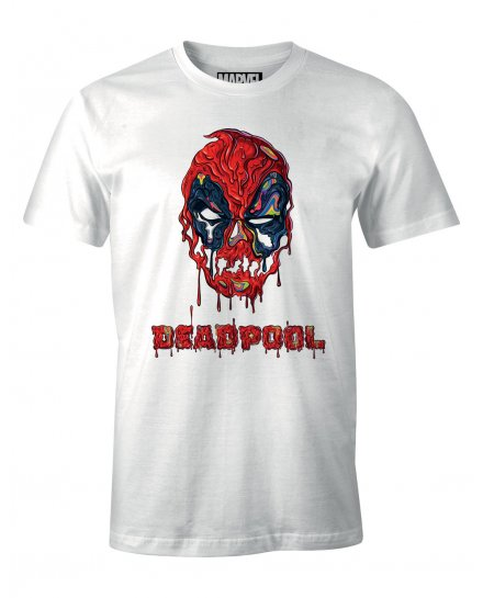 Tee-Shirt Deadpool Slim Head Marvel