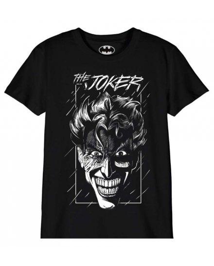 Tee Shirt Enfant Joker sous la pluie Batman