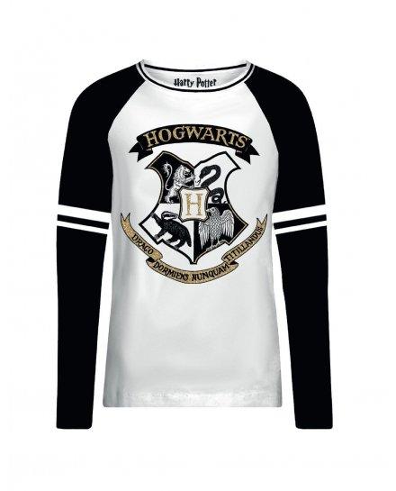 Tee-Shirt Harry Potter femme Hogwarts Gold
