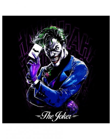 Tee Shirt Joker DC Comics Carte