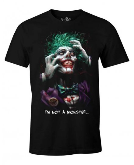 Tee Shirt Joker DC Comics I'm not a monster