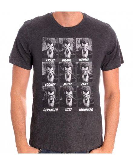 Tee Shirt Joker Emotions Batman
