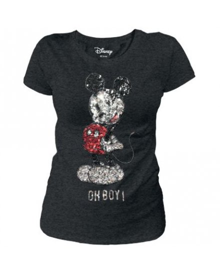 Tee-Shirt femme Mickey Oh Boy ! Disney