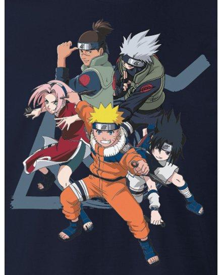 Tee-Shirt Naruto bleu seven team