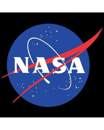 Tee Shirt NASA logo noir